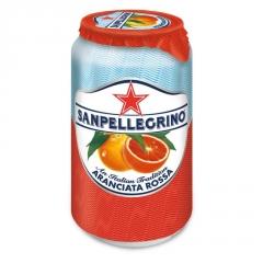 Газированный напиток San Pellegrino Розовый Апельсин 330 мл