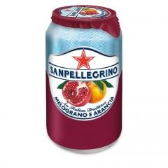 Газированный напиток San Pellegrino Гранат Апельсин 330 мл