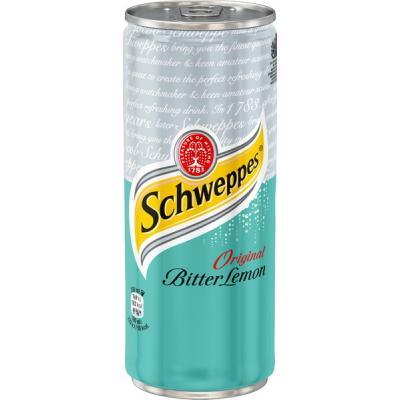 Schweppes Bitter Lemon 0,33 л (Sleek)
