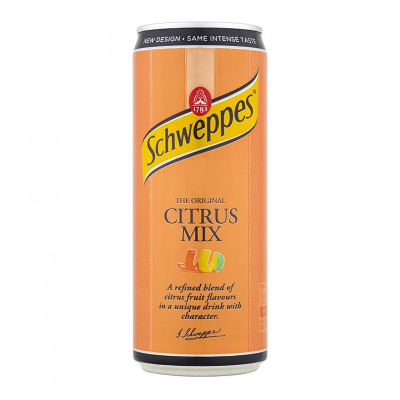 Schweppes Citrus Mix Sleek 0,33 л