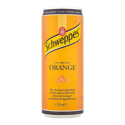Schweppes Orange Sleek 0,33 л