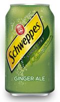 Напиток Schweppes Ginger Ale (0,355ml)