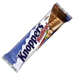 Шоколадный батончик Knoppers Натс 40гр