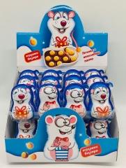 """КАНДИ-Печенье """"КРЫСЁНОК"""" с  шоколадной пастой и игрушкой 15 гр"""