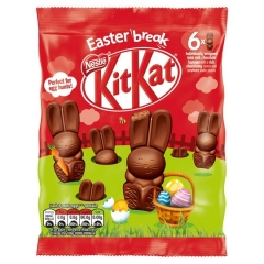 Kit Kat Bunny Milk Chocolate Mini Bunnies 99g