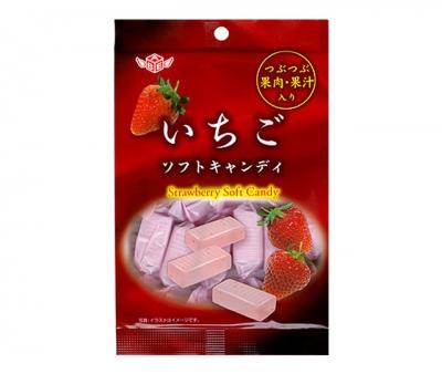 Карамель со вкусом клубники ABE SEIKA 65 гр