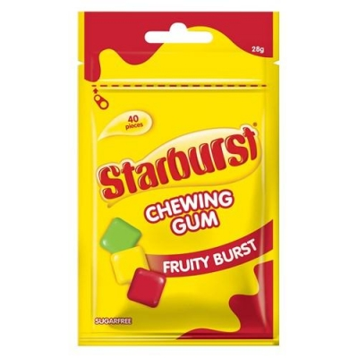 Жевательные конфеты Starburst Chewing Gum 33,1гр