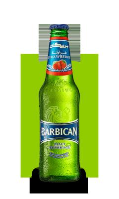 """Напиток """"Барбикан"""" Клубничный 0.33л"""
