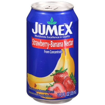 Нектар Jumex Strawberry-Banana Nectar Клубника-Банан 335 мл