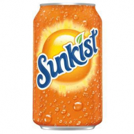 Sunkist Orange Soda 0,355 ml