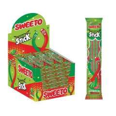 "Мармелад SWEETO ""SOUR STICK"" WATERMELON, Кислые палочки Арбуз 35гр"