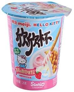 Hello kitty Клубника и Йогурт 25 гр
