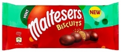 Печенье Maltesers Biscuits Mint Cookies 110гр