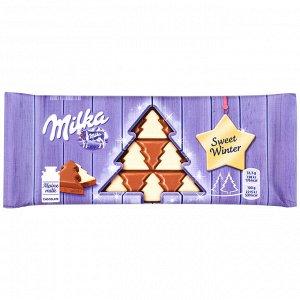 Milka шоколадная плитка Свит Винтер 100 грамм