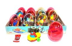 "Яйца с карамелью и игрушкой ""TITANIC"" (кораблики) 6гр"