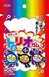 """Top Seika """"Stick trio gum"""" Ассорти из трех вкусов: виноград, кола, содовая"""
