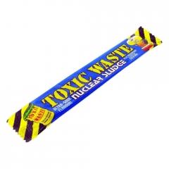 Кислая жевательная конфета Toxic Waste Nuclear sludge Bar (малина)