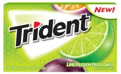 Trident Lime Passionfruit Twist