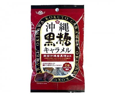 Карамель из тросникового сахара с острова Окинава ABE SEIKA 80 гр