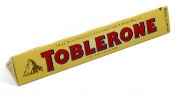 Toblerone молочный шоколад с нугой 100гр