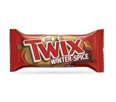 Шоколадный батончик Twix Winter Spice 46 гр