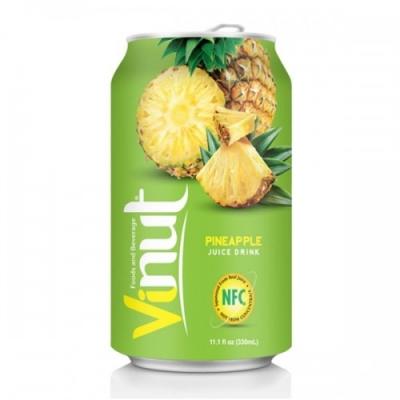 Напиток VINUT со вкусом ананаса 330мл