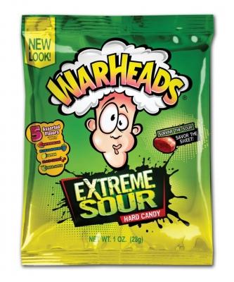 Warheads Extreme Sour 28 гр