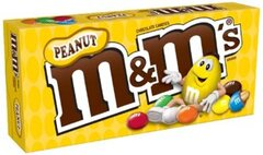 Шоколадное драже M&Ms peanut 87,9гр
