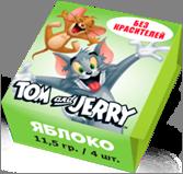 Tom and Jerry конфеты жевательные со вкусом Яблока 11,5 гр