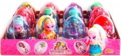 """Яйца с карамелью и игрушкой """"MONSTER GIRL"""" 6гр"""