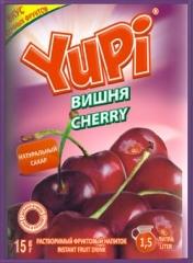 Растворимый напиток YUPI Вишня 15г
