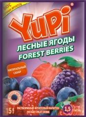 Растворимый напиток YUPI Лесные ягоды 15г