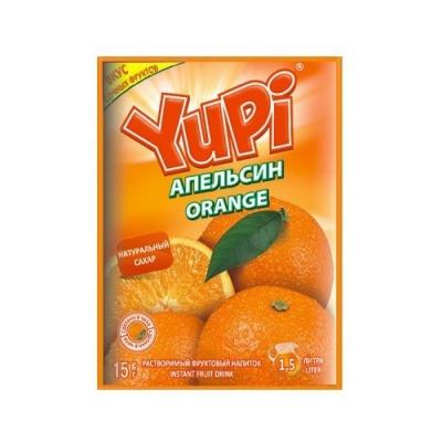 Растворимый напиток YUPI Апельсин 15г