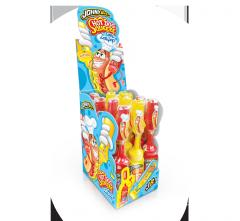 """Жидкая конфета-гель+леденец ДжониБи """"Hot Dog"""" 80 гр"""