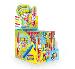 Жидкая конфета-спрей ДжониБи с маркером 5 цветов 8,45 гр