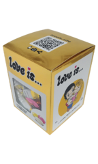 Сливочные жев. конфеты LOVE IS ассорти вкусов ЗОЛОТО 105гр
