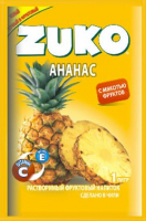 Растворимый напиток ZUKO Ананас 25г