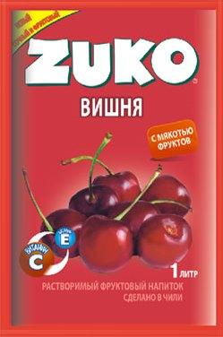 Растворимый напиток ZUKO Вишня  25г