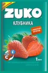 Растворимый напиток ZUKO Клубника 25г