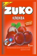Растворимый напиток ZUKO Клюква  25г