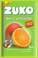 Растворимый напиток ZUKO Манго-апельсин 25г