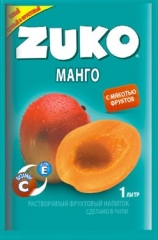 Растворимый напиток ZUKO Манго 25г