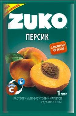 Растворимый напиток ZUKO Персик  25г