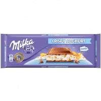 Milka Crispy Yoghurt 300 грамм